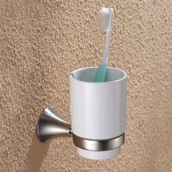 Amnis Wall-mounted Ceramic Tumbler Holder