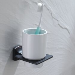 Fortis Wall-mounted Ceramic Tumbler Holder