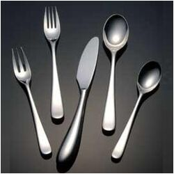 Aquatique Ice Flatware Collection-Aquatique Ice Serving Fork