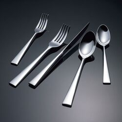 Float Flatware Collection-Float Salad Fork