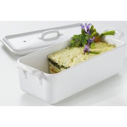 Belle Cuisine 21.25 oz. Rectangular Terrine Dish with Lid