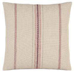 French Country Feed Sack Pillow