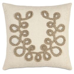French Country Plaited Loops Pillow