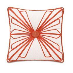 Maldive Dutchess Shell Tufted Pillow