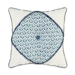 Ceylon Polyester Kari Iris Diamont Tufted Decorative Pillow