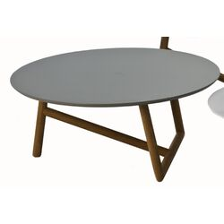 Klara Coffee Table with Lacquered Top