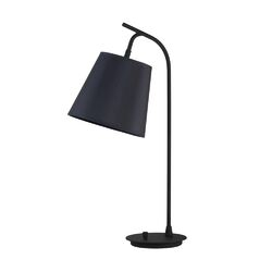 Walker Table Lamp in Powder Coated Black