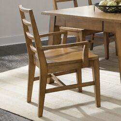 Ember Grove Slat Back Arm Chair (Set of 2)
