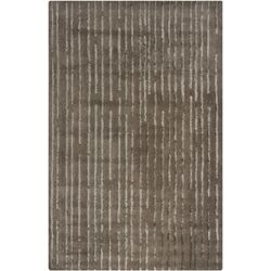 Harrow Brown Striped Area Rug