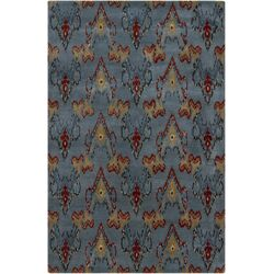 Rupec Grey Abstract Area Rug