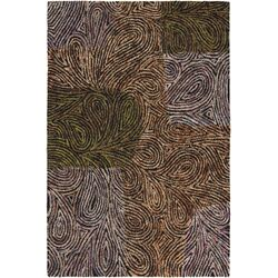 Twister Abstract Area Rug