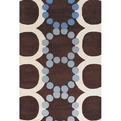 Avalisa Brown/White Area Rug