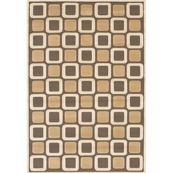 Rita Brown/Tan Area Rug