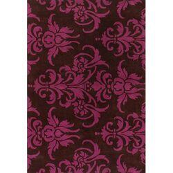 black pink paisley area rug wayfair. Black Bedroom Furniture Sets. Home Design Ideas