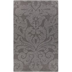Mystica Hand-Tufted Charcoal Area Rug