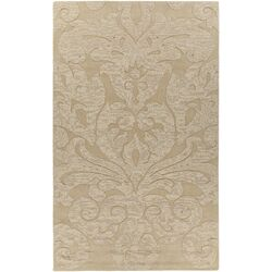 Mystica Hand-Tufted Light Gold Area Rug