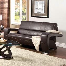 Nova Leatherette Sofa