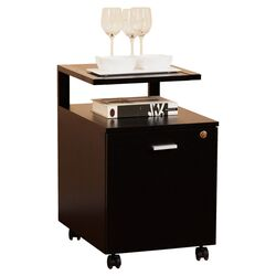 1-Drawer Modern Equipment Trolley/File Cabinet