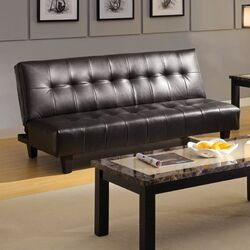 Belmont Leatherette Convertible Sofa