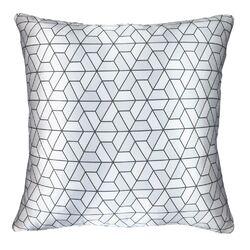 Triangles Modern Printed Throw Pillow Cushion