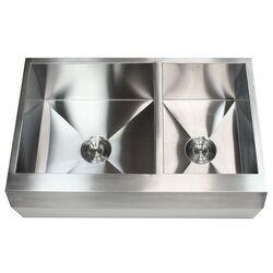 Kraus Farmhouse 35 9 Quot X 20 75 Quot Double Bowl Kitchen Sink