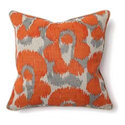 African Mod Jaguar Print Pillow