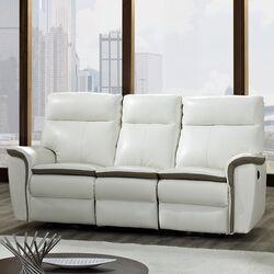 Savannah Leather Reclining Sofa