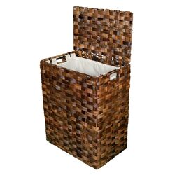 Abaca Flate Weave Laundry Hamper by BirdRock Home