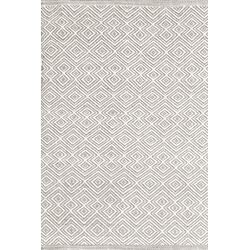 Annabelle Grey Diamond Indoor/Outdoor Rug