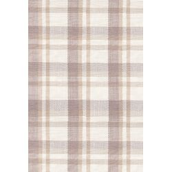 Charlie Grey Plaid Indoor/Outdoor Rug