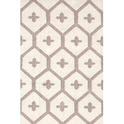 Elizabeth Brown/Tan Vintage Indoor/Outdoor Area Rug