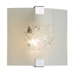 Kansa Lighting Milos Sparkling 1 Light Flush Light