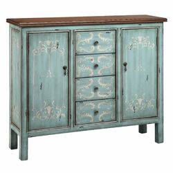 Tabitha 4 Drawer 2 Door Cabinet