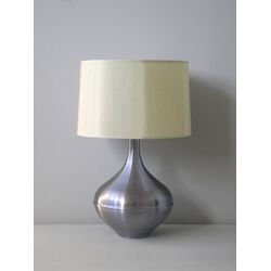 Kiss Table Lamp in Ice with Pebble Shade