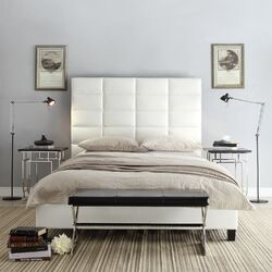 High Profile Tufted Bed