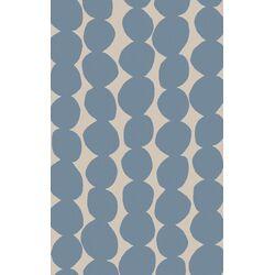 Textila Light Gray/Sky Blue Rug