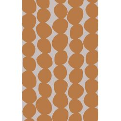Textila Orange/Light Gray Rug