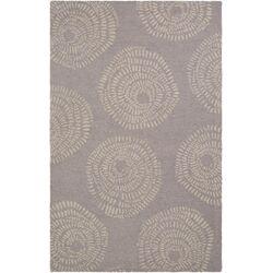Decorativa Taupe Floral Rug