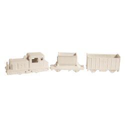 Memorabilia 3 Piece Porcelain My Train Figurine Set
