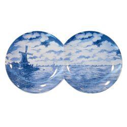 Multidish-2 Porcelain Plate