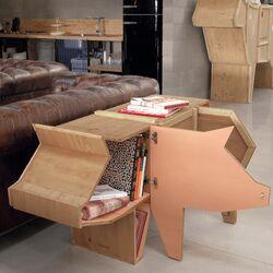 Sending Animals Pig Cabinet