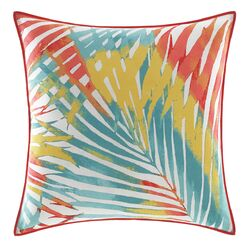 Electric Beach Decorative Pillow