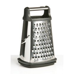 Premier Housewares 4 Sided Grater in Stainless Steel