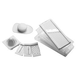 Premier Housewares Multi Grater in Stainless Steel