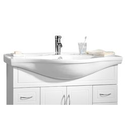 Premier Housewares Aspen Under Basin Cabinet in White