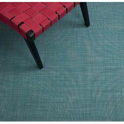 Mini Basketweave Turquoise Floor Mat