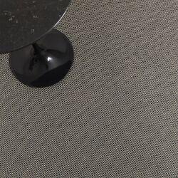 Basketweave Aluminum Floor Mat Black/Grey Area Rug