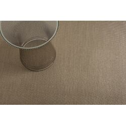 Basketweave Floor Mat Beige Area Rug
