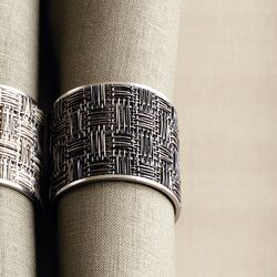Kono Napkin Ring (Set of 2)