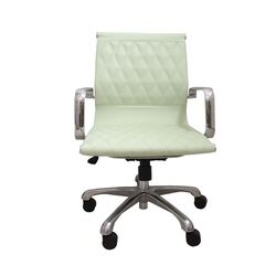 Annie Mid-Back Executive Office Chair with Arms